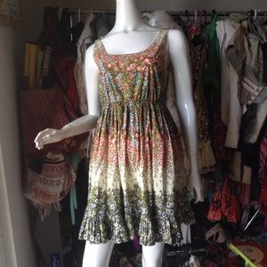 Alice & Olivia dress Sz 2 Flower sundress cute